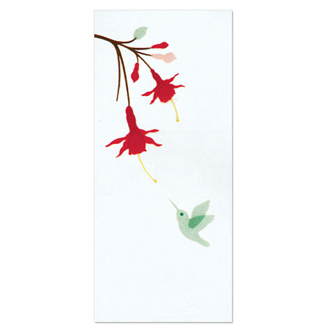 Hummingbird,&,Red,Flowers,papyrus, handmade, greeting, card, hummingbird, red, flowers, flower, floral, blank, express yourself, international, hong kong
