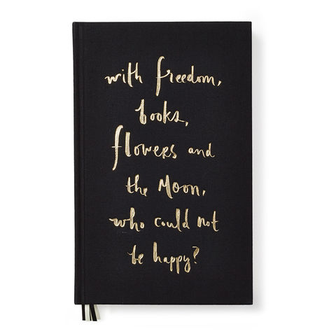 Wisdom,Journal,by,Kate,Spade,New,York,kate spade, journal, with freedom, books, flowers and the moon, who could not be happy, international