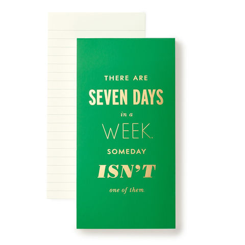 Large,Seven,Days,A,Week,Notepad,by,Kate,Spade,New,York,kate spade, new york, seven days a week, large, notepad, cute, international