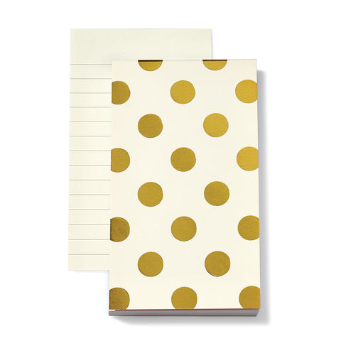 Shiny,Dot,Notepad,by,Kate,Spade,New,York,kate spade, new york, shiny dot, notepad, paper, international