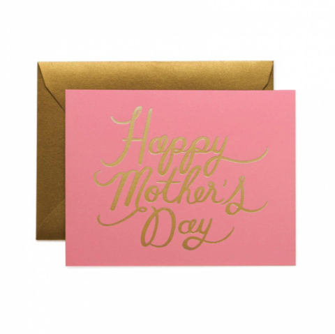 Pretty,in,Pink,Mother's,Day,Card,pretty in pink, mother's day, moms, mother, mom, day, may 8th, eighth, rifle paper co., international