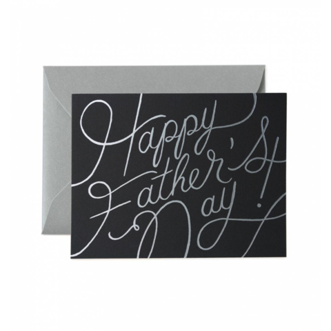Silver,Text,Father's,Day,father's day, father, dad, daddy, june 19th, nineteenth, rifle paper co., silver, text, foil, international