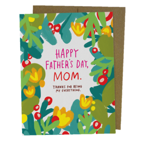 Happy,Father's,Day,,Mom,Day,Card,happy father's day, father, dad, daddy, fathers, june 19th, nineteenth, greeting, card, cards, emily, mcdowell, studio, international