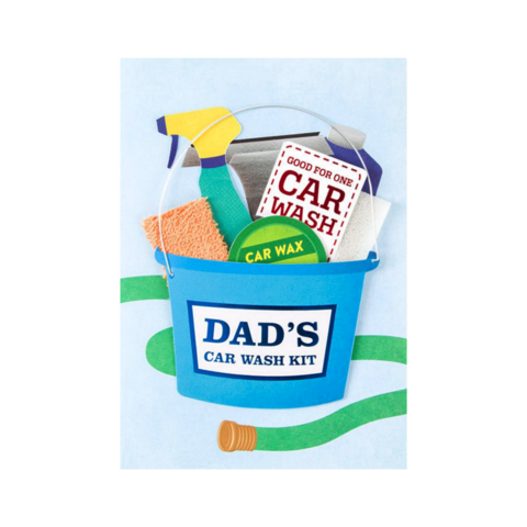 Car,Wash,Kit,papyrus, father's day, father, fathers, dad, dads, daddy, june 19th, nineteenth, car, wash, kit, greeting, card, cards, international, hong kong