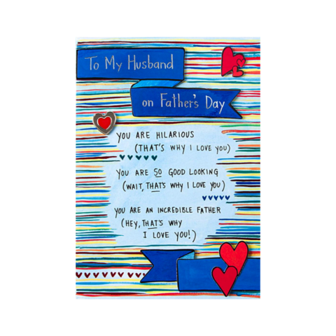 That's,Why,I,Love,You,(For,Husband),papyrus, handmade, greeting, card, cards, father's day, father, fathers, dad, dads, daddy, june 19th, that's, why, love, you, for husband, international, hong kong