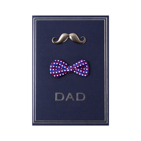 Mustache,,Bowtie,Dad,Father's,Day,Card,papyrus, handmade, greeting, card, cards, father's day, father, fathers, dad, dads, daddy, mustache, bowtie, fancy, dressed, international, hong kong