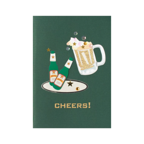 Handmade,Beer,Bottles,&,Mug,papyrus, handmade, greeting, card, cards, father's day, father, fathers, dad, dads, daddy, june 19th, nineteenth, beer, bottles, mug, alcohol, international, hong kong