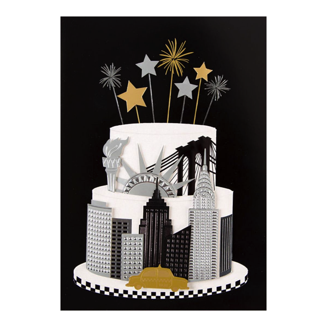 New York Cake by Taylor Swift Anas Papeterie Greeting Cards