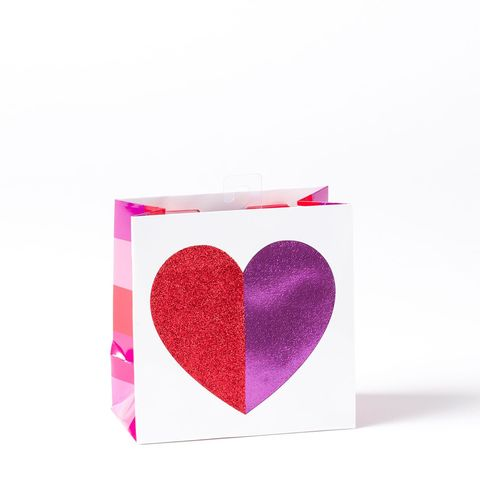 Multicolor,Heart,Small,Gift,Bag,papyrus, valentine's day, multicolor, hearts, gift, bag, small