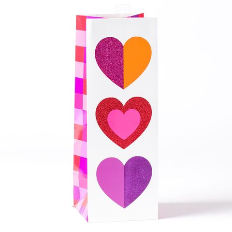Multicolor,Hearts,Bottle,Gift,Bag,papyrus, valentine's day, multicolor, hearts, gift, bag, bottle