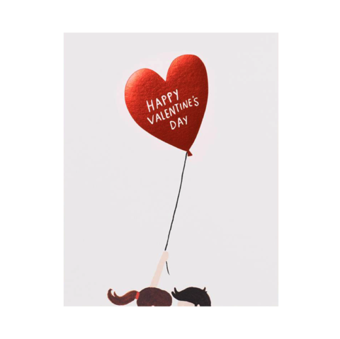 Balloon,Valentine's,Day,Card,rifle paper co, balloon, balloons, illustration, love, romance, couple, valentine's, valentine, day, handmade, greeting, card, international, hong kong