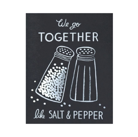 Salt,&,Pepper,Valentine's,Day,Card,rifle paper co, salt, pepper, romance, love, valentine's, valentine, day, handmade, greeting, card, international, hong kong