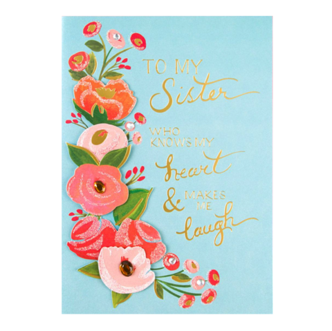 Copper flowers mothers day card anas papeterie greeting cards whimsyfloralcardforsistermothersday m4hsunfo