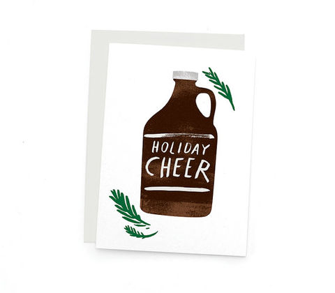 Growler,Holiday,Cheer,Card,growler, holiday, holidays, christmas, cheer, handmade, greeting, card, redcruiser