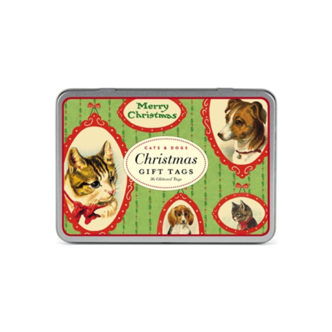 Christmas,Cats,&,Dogs,Gift,Tags,cavallini, cats, dogs, gift, tags, christmas, holiday, holidays, cute, animals, animal, furry, vintage