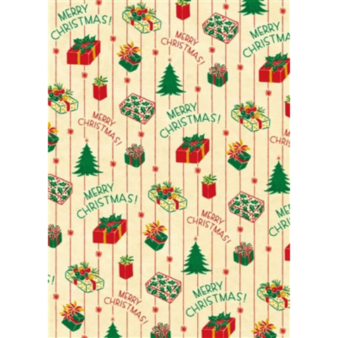 Christmas,Presents,Wrap,cavallini, christmas, wrap, sheet, wrapping, paper, holiday, holidays, italian, premium, presents, vintage, boxes