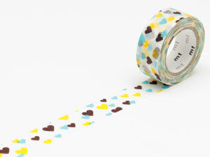 washi tape cuori/fiori mt - product images  of