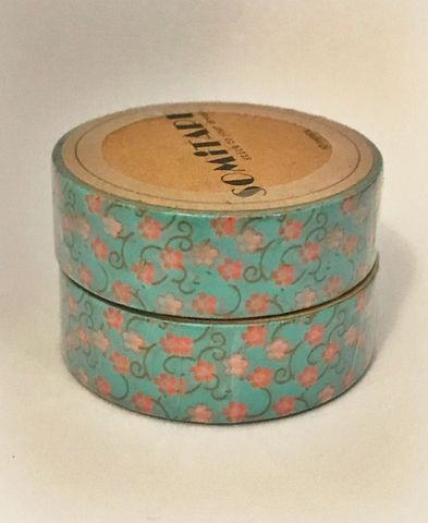Washi,tape,fiori,Washi tape, masking tape