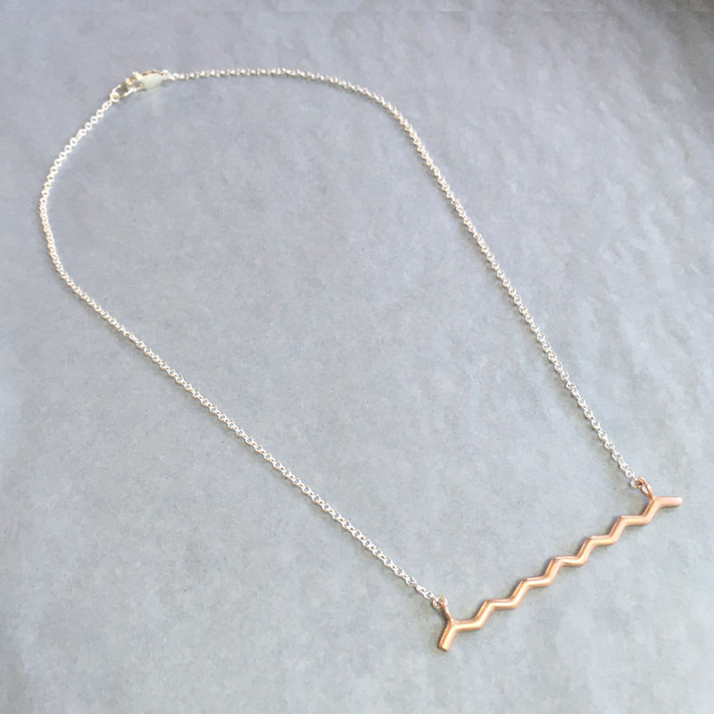 Wave necklace - product images  of