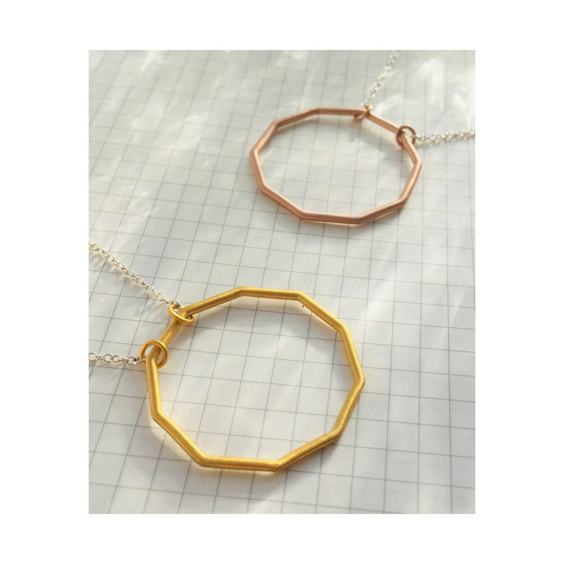 Decagon short necklace - product images  of