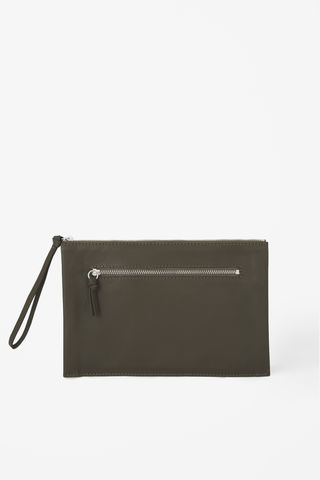 ZIPPED,CLUTCH,BAG