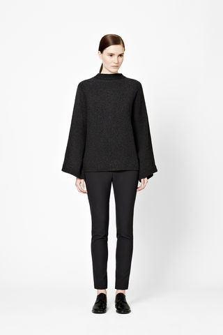 WIDE-CUT,WOOL,JUMPER