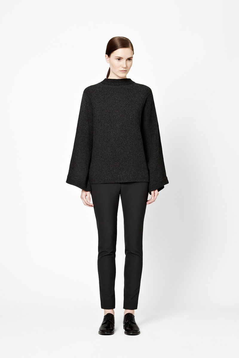WIDE-CUT WOOL JUMPER  - product images  of