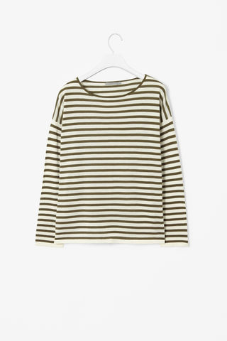 WIDE-CUT,STRIPE,TOP