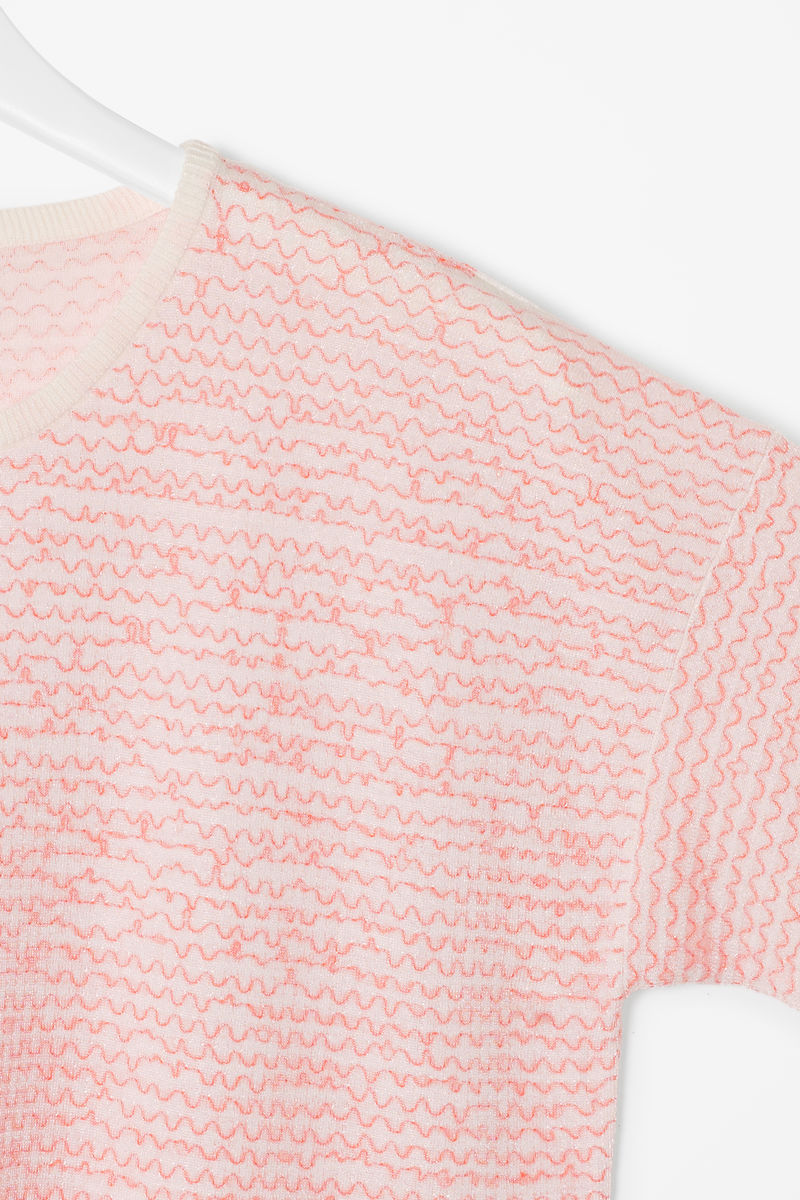 WAVY KNIT TOP - product images  of