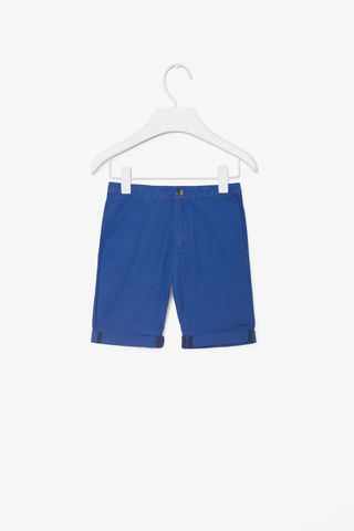 WASHED,COTTON,SHORTS