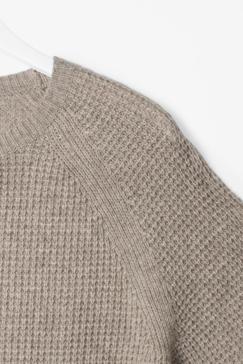 WAFFLE KNIT JUMPER  - product images  of