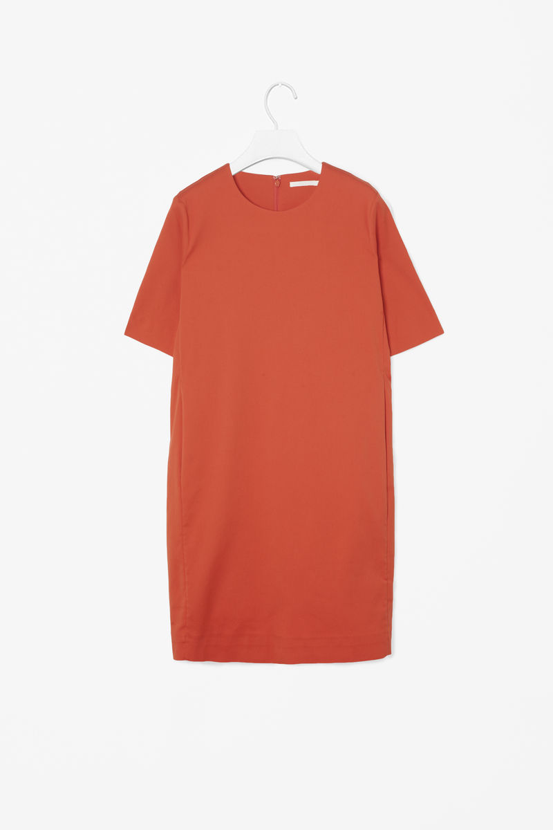 STRAIGHT SHIFT DRESS  - product images  of