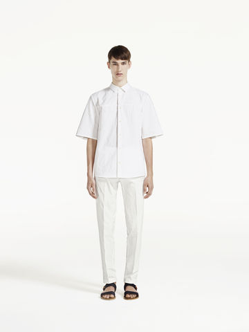 RELAXED,COTTON,TROUSERS
