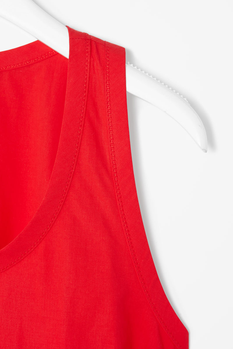 RACER-BACK COTTON DRESS  - product images  of