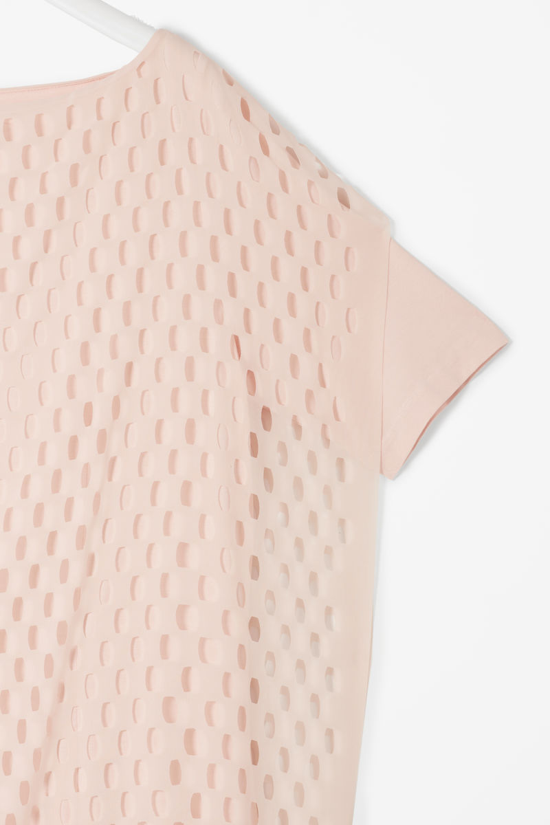 PERFORATED LAYER DRESS  - product images  of