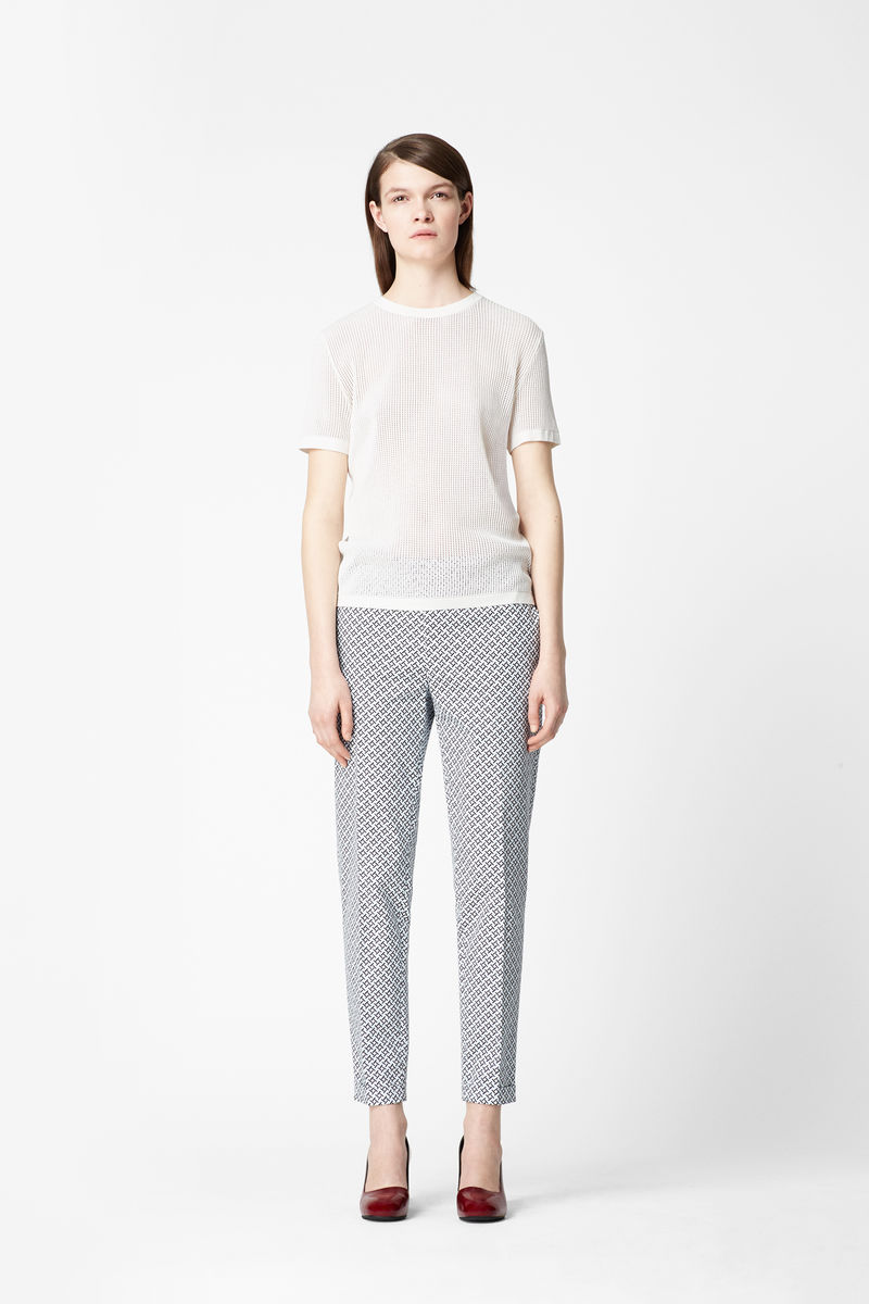 PARQUET PRINT TROUSERS - product images  of
