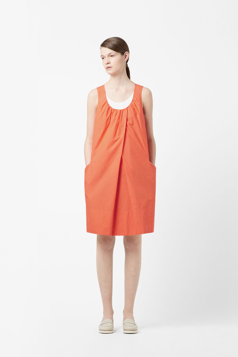 FOLD FRONT DRESS  - product images  of
