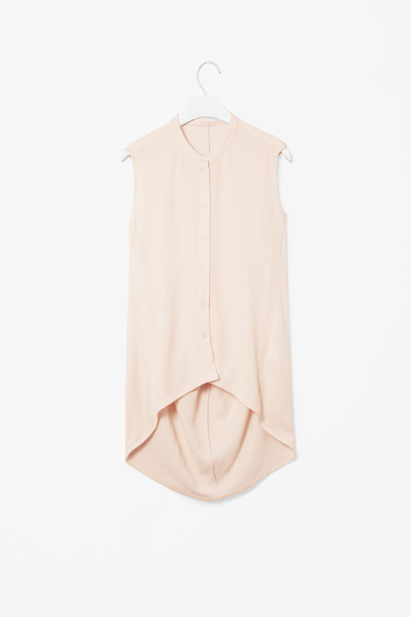 DRAPED BACK TOP  - product images  of
