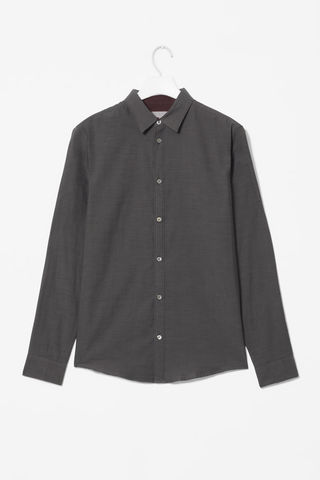 CONTRAST,DETAIL,SHIRT