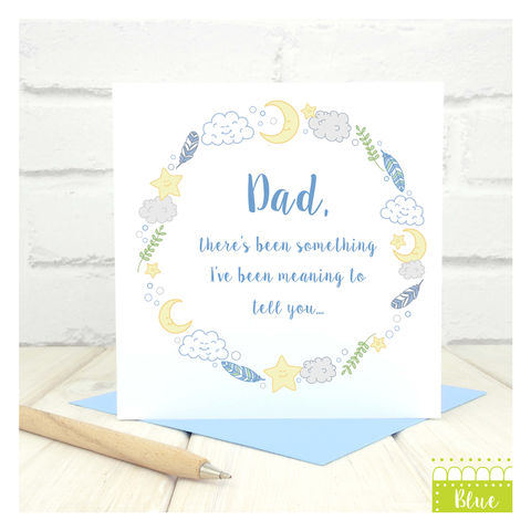 Personalised,Baby,Announcement,Card,Greetings Card. Fathers Day Card. Mothers Day Card. Baby Announcement Card. Personalised card.