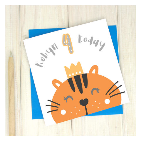 Birthday cards collection chi chi moi personalisedpartyanimal4thbirthdaycardpersonalised bookmarktalkfo Choice Image
