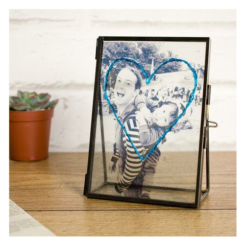 Personalised Embroidered Photo Frame For Father's Day - product images  of