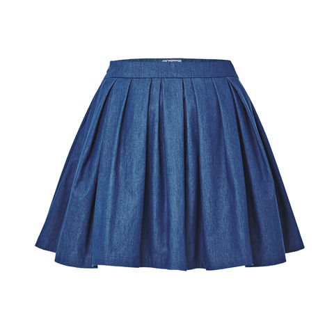 Short,bubble,skirts,Smoky Beige, Cobalt Blue, Blue, Beach blue, Hairy, Autumn, Winter, SS16