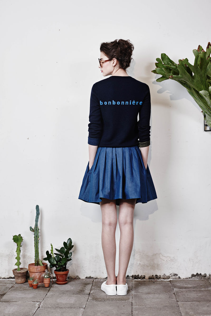 'Bonbonniere' Cardigan - Navy - product images  of