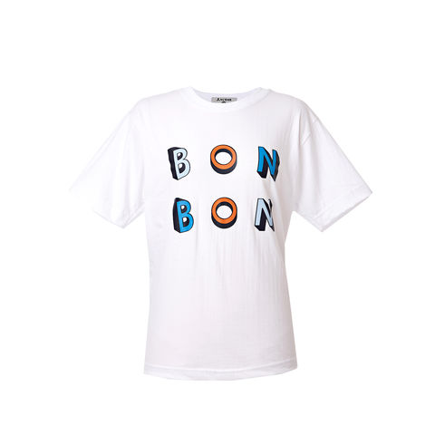 'BonBon',Printed,T-shirts,(White),Smoky Beige, Cobalt Blue, Blue, Beach blue, Hairy, Autumn, Winter, SS16