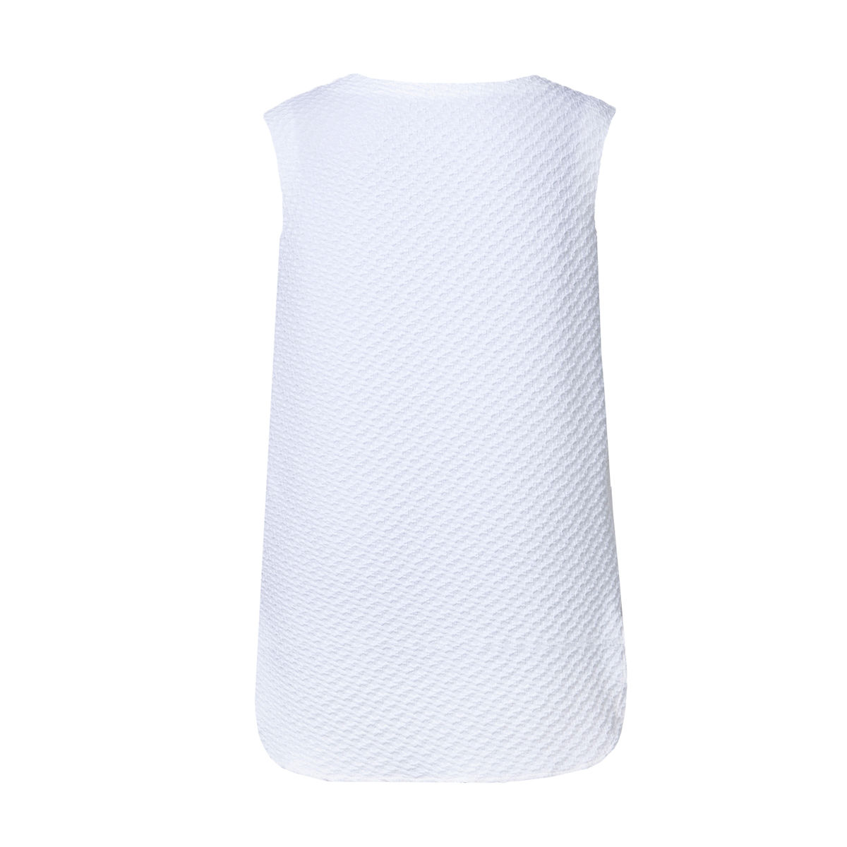 Boat-neck mini-dress - White - product images  of