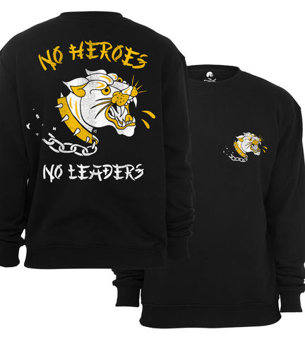 NO,HEROES,,LEADERS,Crew,buy t-shirts online, traditional illustration, traditional tattoos, tattoos t-shirts, no heroes, no leaders, graphic t-shirts store, rocco malatesta