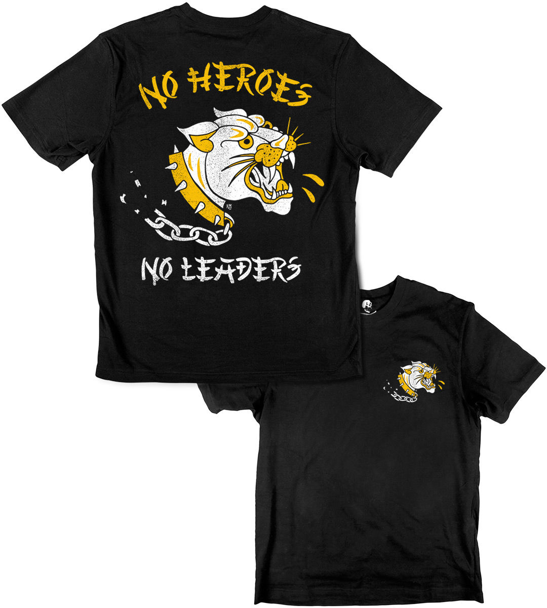 NO HEROES, NO LEADERS - product image