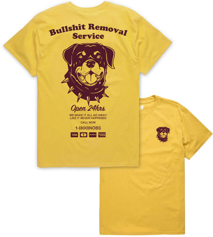 Bullshit,Removal,Service,(LIMITED,ED.),buy t-shirts online, traditional illustration, traditional tattoos, tattoos t-shirts, surf, graphic t-shirts store, rocco malatesta, haze for days
