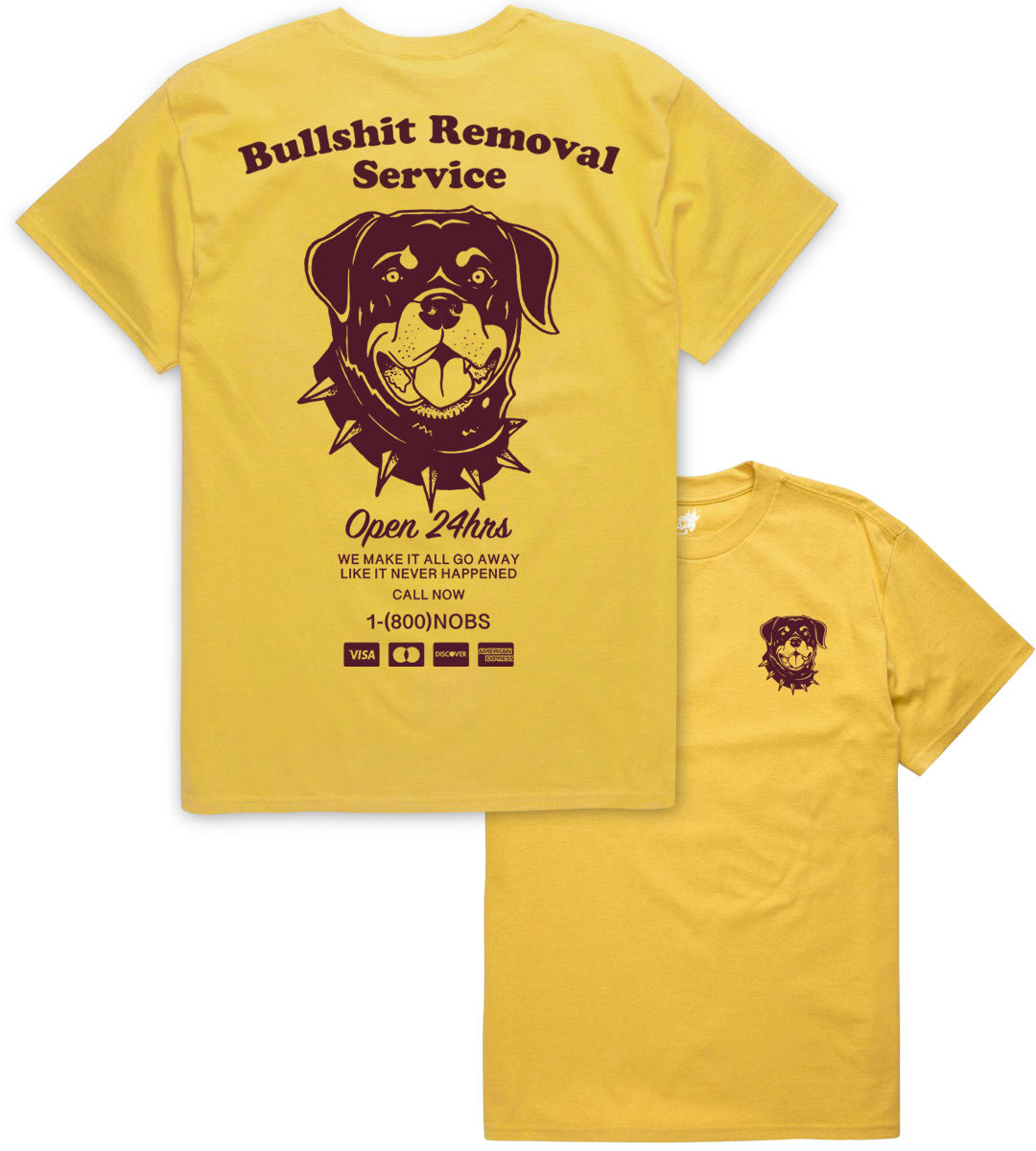 Bullshit Removal Service (LIMITED ED.) - product image
